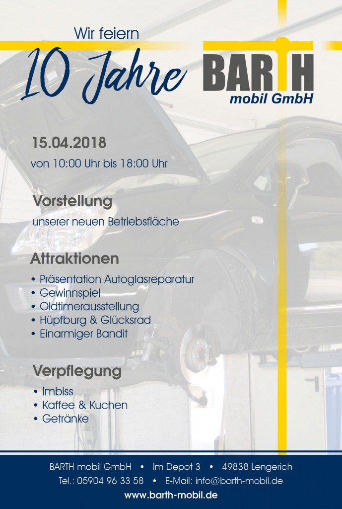 10 Jahre Barth mobil GmbH in Lengerich